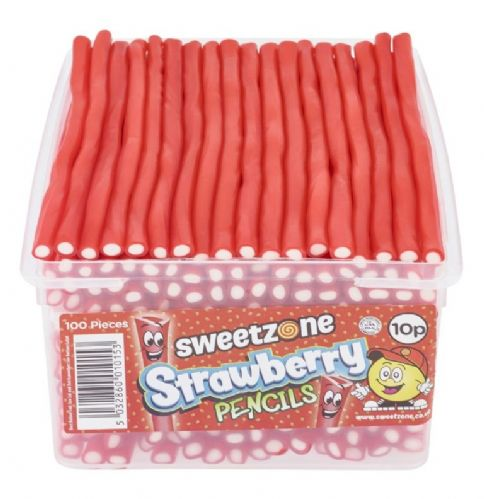 SWEETZONE STRAWBERRY PENCILS 10p